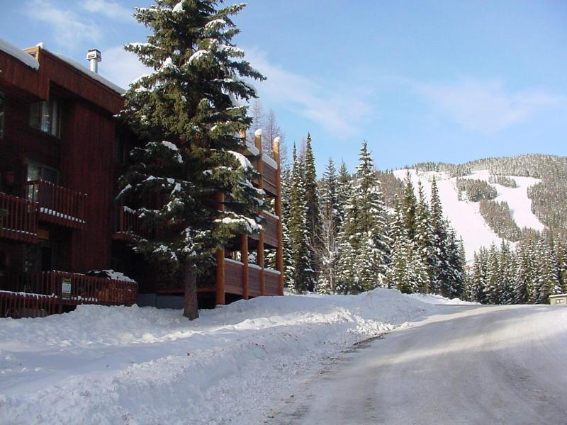 Exterior View of Decks - Ski in-Ski out, Big Mountain Montana Condo - Whitefish - rentals