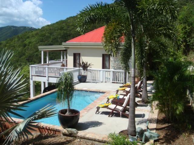 Bo Atabey a private location with sundrenched Pool - Bo Atabey-Now w/AC in 2 King Masters-Private,Quiet - Coral Bay - rentals