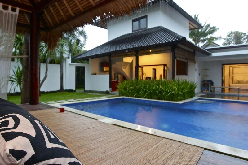 Villa view from Bale - Mason Villa Satu - your Oasis in Seminyak !! - Seminyak - rentals