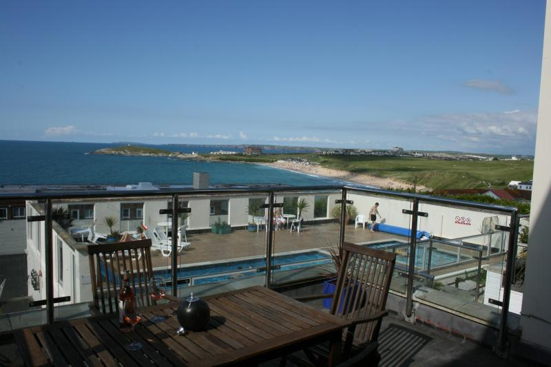 Balcony view - Fistral Beach Holiday Home - Newquay - rentals