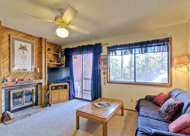 Fabulous 2 Bedroom/1 Bathroom House in Angel Fire (LT E-6) - Image 1 - Angel Fire - rentals