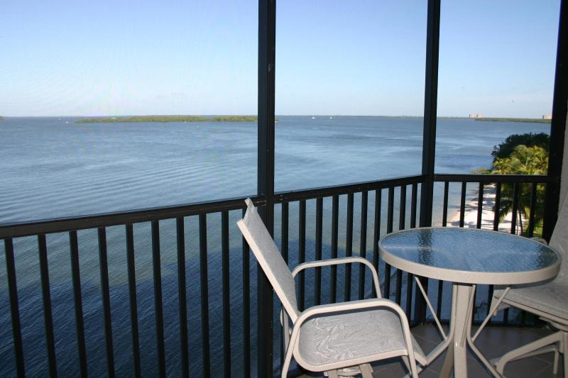Bay View from Lanai - SHR 2 Bedroom Water Front Condo-Great Winter Rates - Fort Myers - rentals