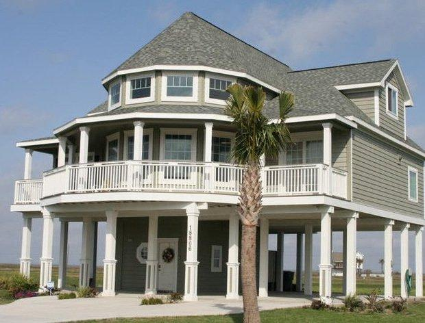 Font of House - High Spirits - Gorgeous House with Two Living Rooms! - Galveston - rentals