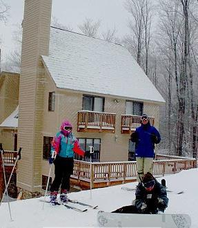Slope View - Canaan Valley Slopeside Ski In Ski Out Chalet - Canaan Valley - rentals