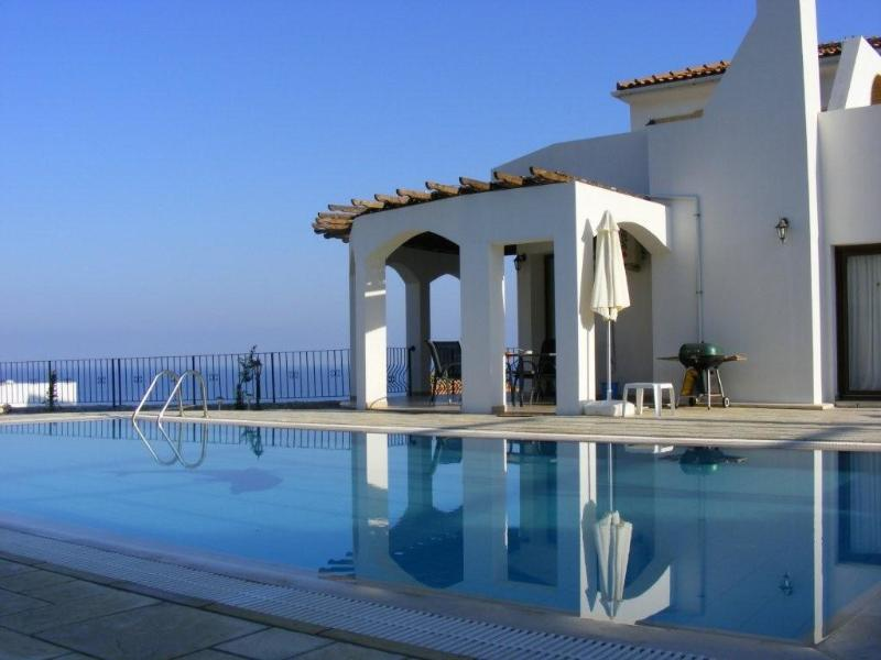 Private pool with sea and mountain views - Sunset Valley Villa 3 Bed, Pool, Stunning Location - Bahceli - rentals