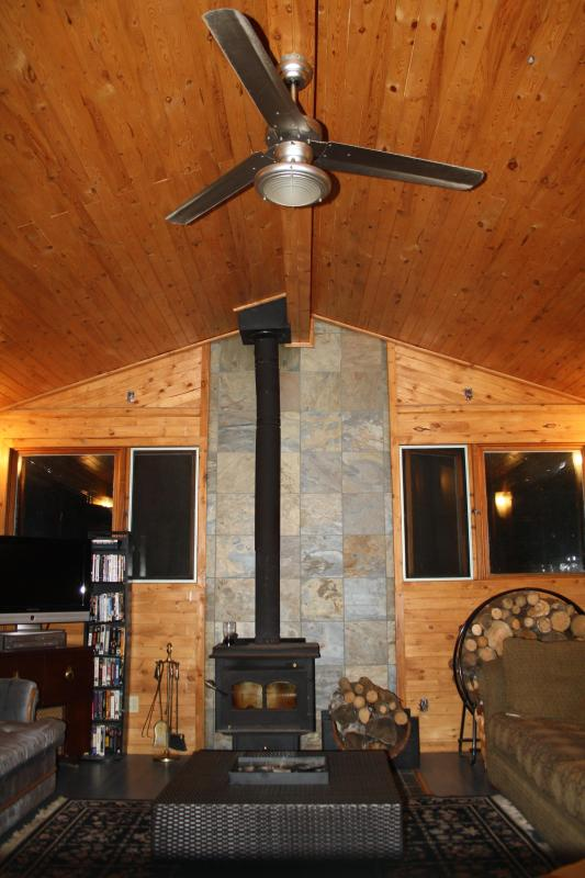 Emma Lake Fireplace - Beautiful Emma Lake Cabin Rental... Sleeps 12 - Christopher Lake - rentals