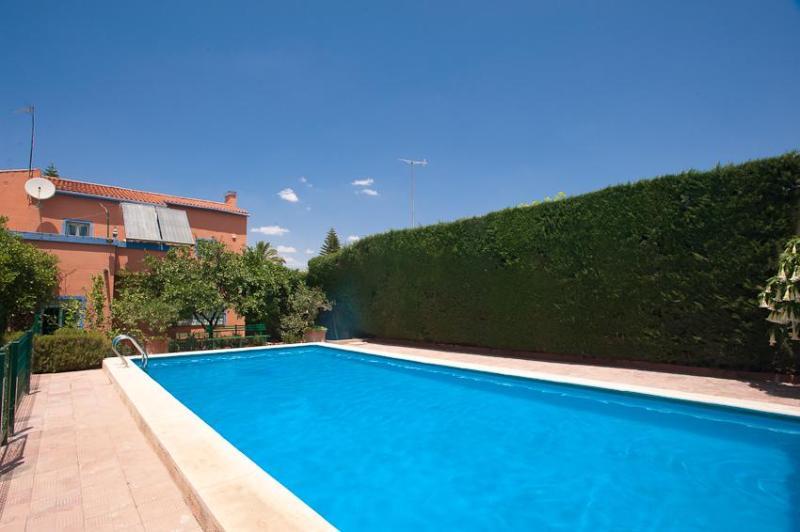 pool - Seville villa with private garden-pool- internet - Alcala de Guadaira - rentals