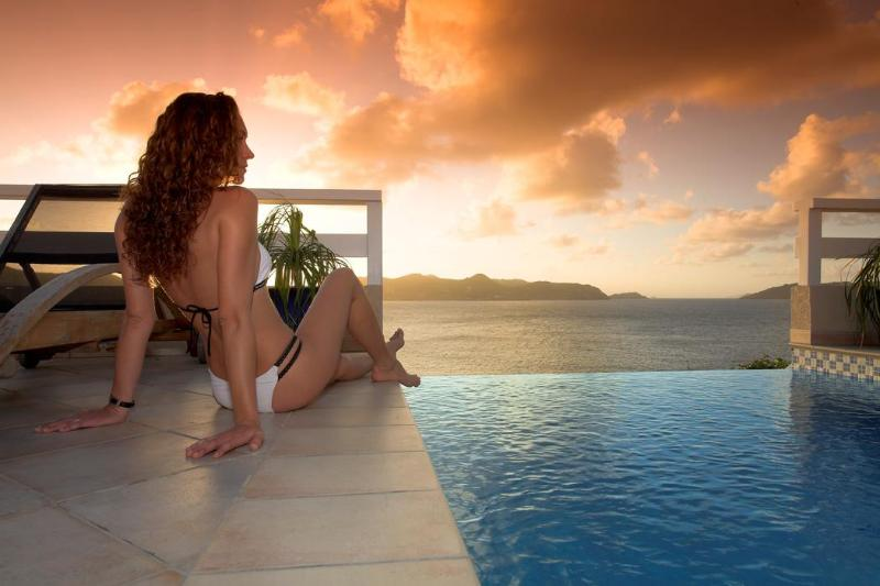 Glorious sunsets - Luxury Villa with Spectacular Ocean, Sunset Views - Saint Barthelemy - rentals