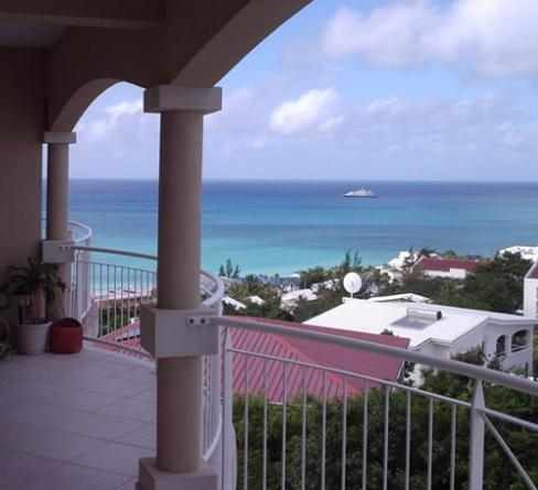 Simpson Bay from MBR Balcony - Perfect Pelican Escape -- Spectacular Views & Best Sunset Happy Hour - Simpson Bay - rentals