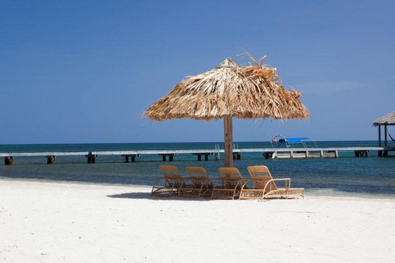 Palapas for your use at the beach - Hummingbird House = Abundant Spacious Amenity - Roatan - rentals