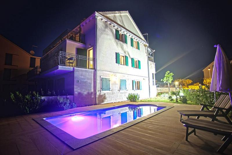 Villa Milena at night - Villa Milena 2 Bed - Brac - rentals