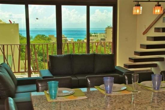 Very Unique 2 Bedroom Plus Loft with Ocean View -El Marine - Image 1 - Playa del Carmen - rentals