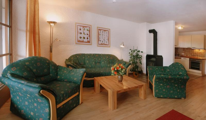 Living Room (2) - Vacation Apartment in Ruhpolding - 780 sqft, great location in summer and winter (# 68) - Ruhpolding - rentals
