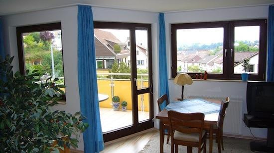 Living Room (2) - Vacation Apartment in Tübingen - 388 sqft, quiet, bright, comfortable (# 1855) - Tübingen - rentals