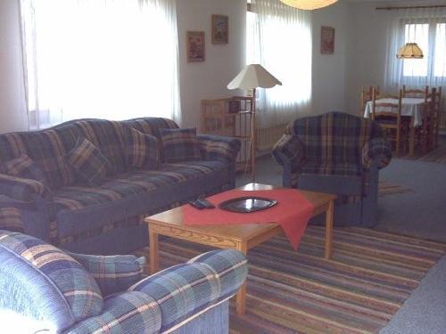 Living Room (1) - Vacation Apartment in Meersburg - 1184 sqft, friendly, nice, comfortable (# 1724) - Meersburg (Bodensee) - rentals