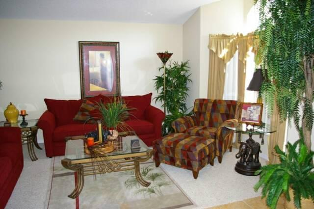 Parlour room - 4BR Luxury Pool Home, Wifi, Game Room near Disney - Davenport - rentals