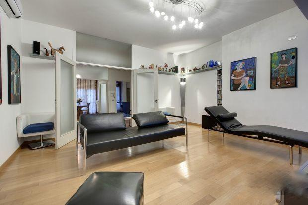 Living-entrance-dining room & Kitchen, transversal view - 4 Bedroom, Luxury Home with Beautiful Terrace - Florence - rentals