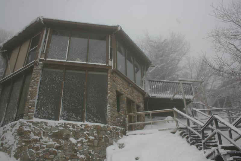 Aspen Ski Loft at Beech Mountain in Winter - 50 Steps From the Ski Slopes! - Aspen Ski Loft at Beech Mountain, North Carolina; 50 Steps From Ski Slope! - Beech Mountain - rentals