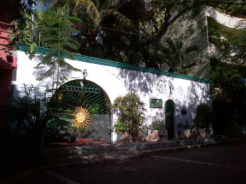 The Entrance To Hilhaven.. - *HILHAVEN*PLAYA* STUDIO APT* 1 BLOCK TO THE BEACH* - Playa del Carmen - rentals