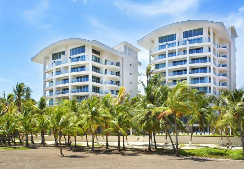 Buildings from the beach - Oceanfront Penthouse, Million $$ View - 4BR/4.5BA - Jaco - rentals