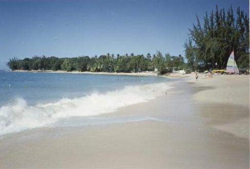 Walk for miles on the sandy coral beach, 4-5 minute walk from the Awesome Villa Apartment. - Awesome Tropical Villa Apartment - Holetown - rentals