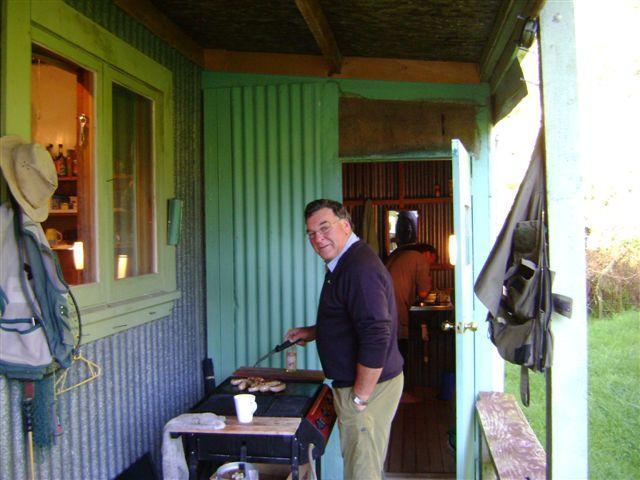 BBQ - Trophy Trout Fishing, Ruakituri river NZ, Rainbows and Browns - Wairoa - rentals