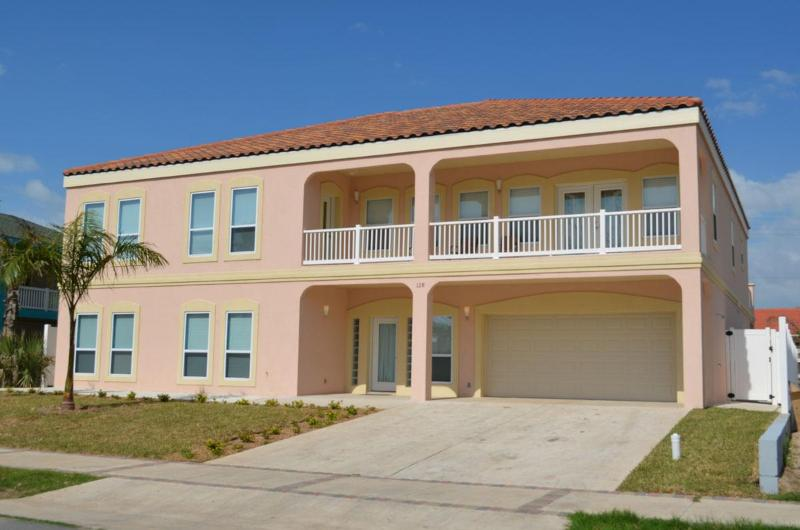 Side view of this Beauty - Huge7 Bedroom/5.5bthrmPool/jaccuzzi  BilliardTable - South Padre Island - rentals