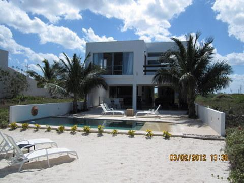 Beach side - KAH- a Beautiful Beachouse near Progreso, Yucatan - Progreso - rentals