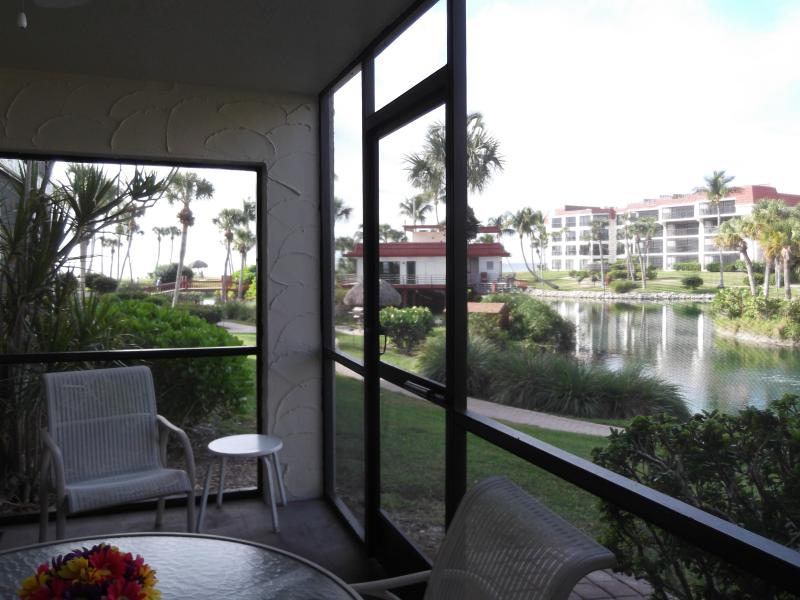 View from walkout Lanai - Pointe Santo Ground Floor Walk-Out - Sanibel Island - rentals