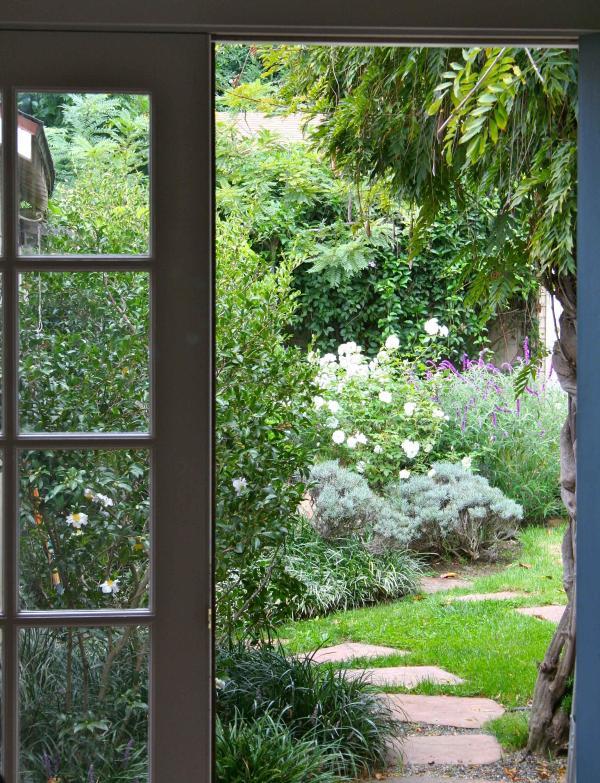 View of your Secret Garden Hideaway - Secret Garden Hideaway- Walk to Town, SB Mission - Santa Barbara - rentals