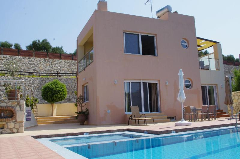 Villa Nefeli with sea view in Agia Marina - Image 1 - Agia Marina - rentals