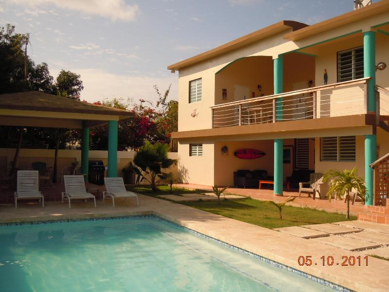 Pool and gazebo area - Seashell - Aguadilla - rentals