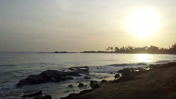 Sunset at local beach - PALMAS VACATION RENTALS / BETTA - Aguadilla - rentals
