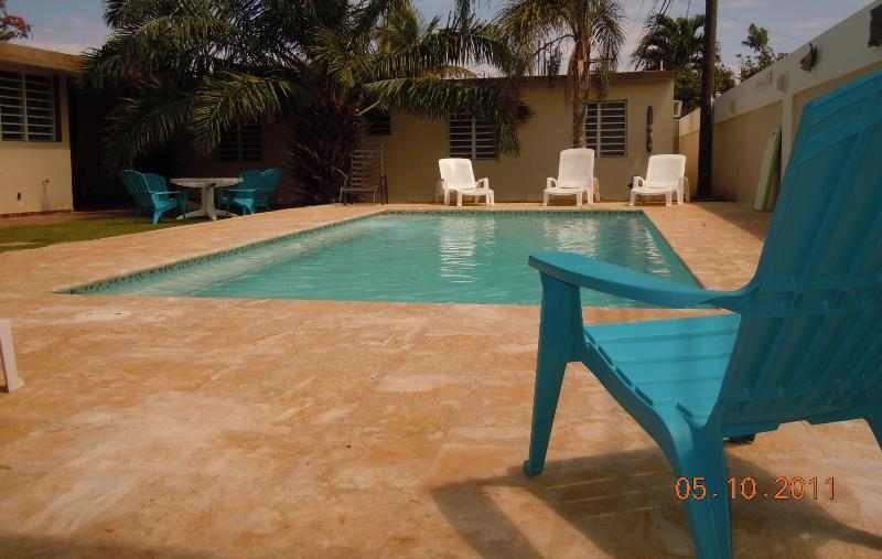 Pool area - Emperor Fish Villa - Aguadilla - rentals