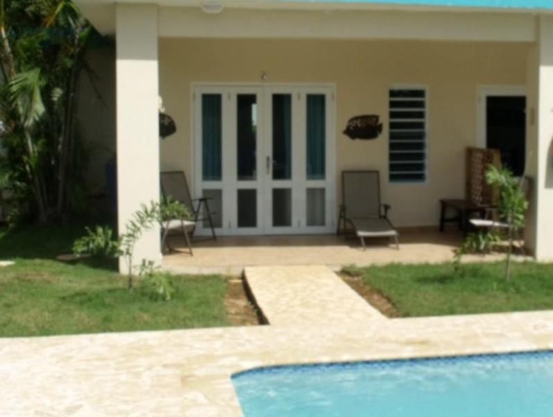 Private Terrace with prive BBQ - PALMAS VACATION RENTALS/ DOLPHIN VILLA - Aguadilla - rentals