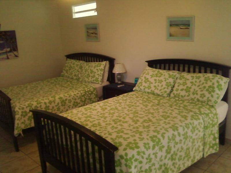 Bedroom- 2 full size beds - PALMAS VACATION RENTALS/ SEAPEARL APT. #7 - Aguadilla - rentals