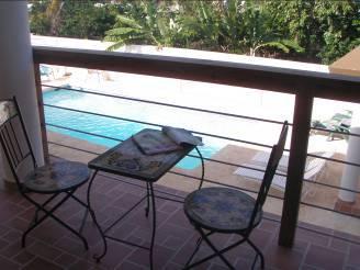 Small Balcony - PALMAS VACATION RENTALS / SEAHORSE APT. #6 - Aguadilla - rentals