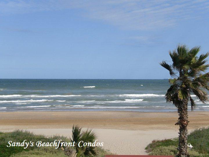 Beach view from private balcony - 206 - Beachfront Oceanview Aquarius Condo #206 - South Padre Island - rentals