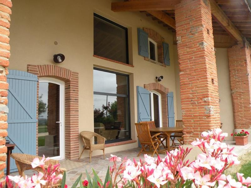 Terrace - Gite with panoramic view - Near Toulouse - Toulouse - rentals