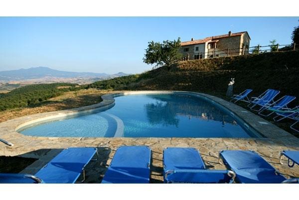 Villa Trevinano vacation holiday villa rental italy, tuscany, umbria, San Casciano Dei Bagni, vacation holiday villa to rent italy, tusc - Image 1 - San Casciano dei Bagni - rentals