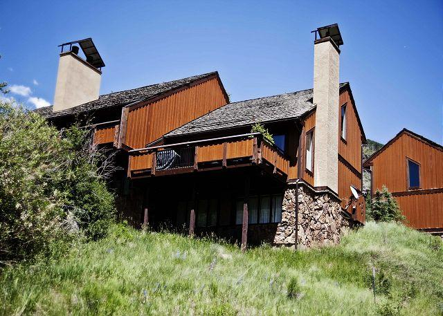 Exterior of Booth Creek E1 - Beautiful Townhome in East Vail - Vail - rentals