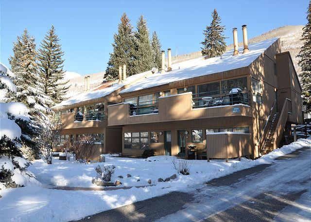 Pitkin Creek Building 2 - One bedroom one bathroom condo in East Vail on free Vail bus Shuttle - Vail - rentals