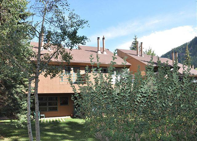 Exterior of Pitkin Creek Park 1B - Call now for special rates for this Luxury Condo in East Vail - Vail - rentals