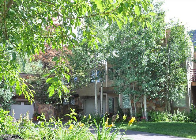 Exterior of 2945A Booth Creek Drive - Luxury home near the Vail Golf Course - Vail - rentals