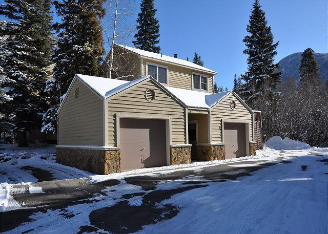 Exterior of 5040 #1 Prima Court - 5040 #1 Prima Court -Spacious Home in East Vail - Vail - rentals