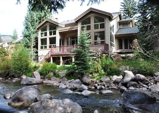 Exterior of 4444 E Streamside Circle - 4444E Streamside Circle - Home in East Vail - Vail - rentals