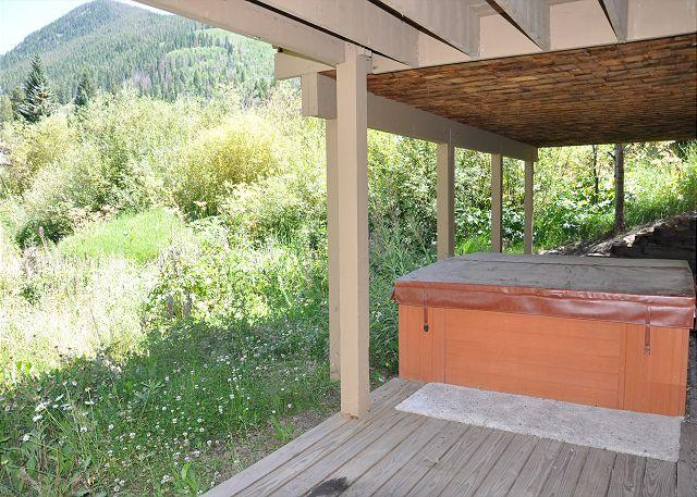 Private hot tub - 5135 Black Bear Lane, Vail Rental - Beautiful Duplex in East Vail - Vail - rentals