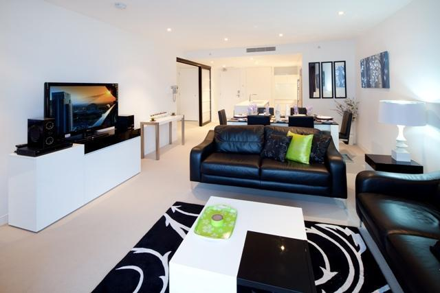 Luxury Apartment Oracle  Broadbeach  Gold COast Queensland Living Area by Q1 Holidays Gold Coast - Oracle Luxury Apartment Broadbeach - Gold Coast - rentals