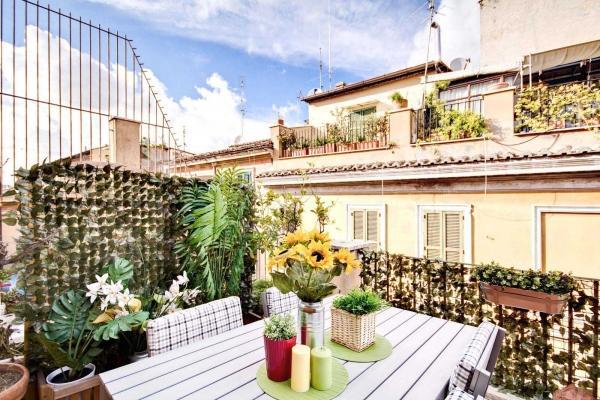 CR446g - genovesi terrace - Image 1 - Rome - rentals
