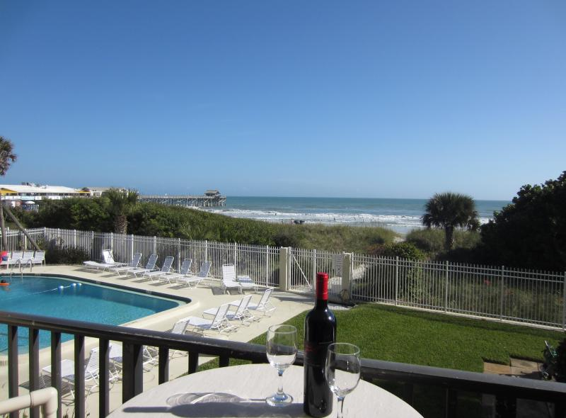 View from your balcony! - ** Bright DIRECT Ocean Corner Unit - Beside Pier * - Cocoa Beach - rentals